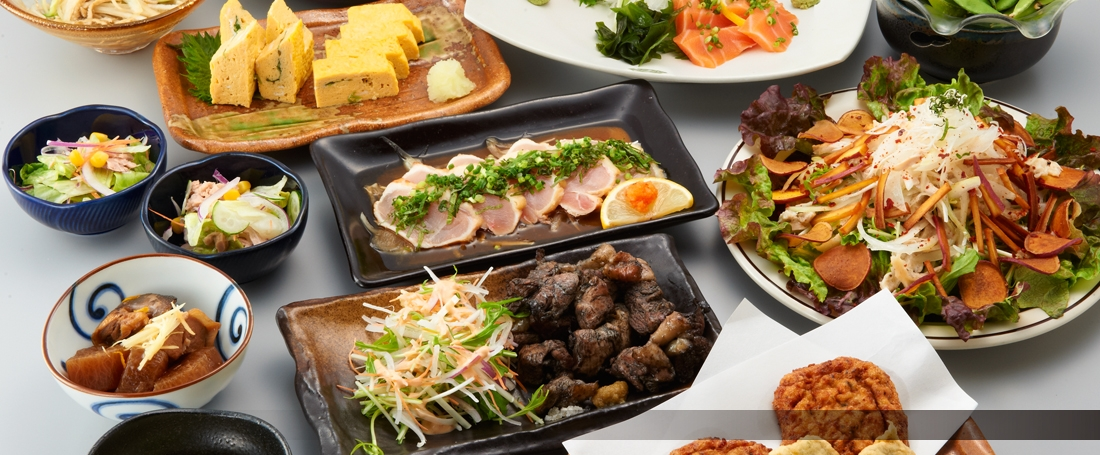 呑喜自慢の宮崎料理の数々